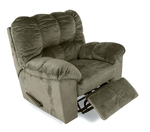 Кресло реклайнер бархатное