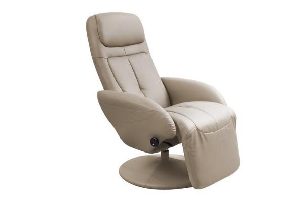 Кресло реклайнер с подставкой для ног
