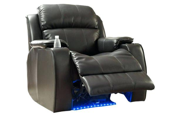 Кресло реклайнер с рычагом