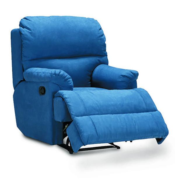 Кресло реклайнер велюровое