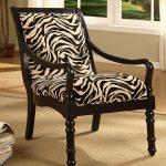 Кресло с принтом Зебра