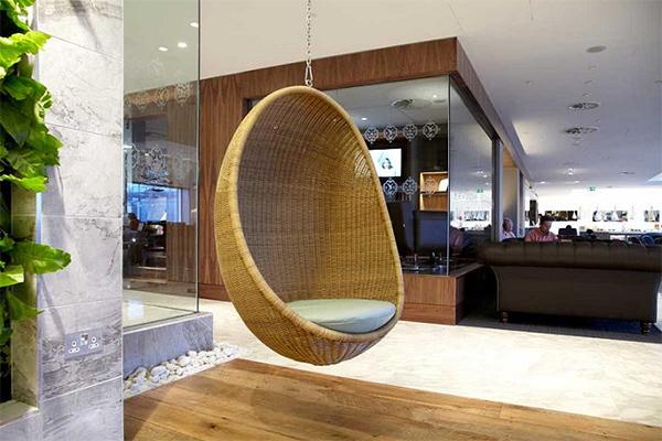 Кресло яйцо подвесное к потолку