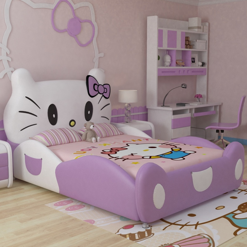 Кровать Hello Kitty для девочки