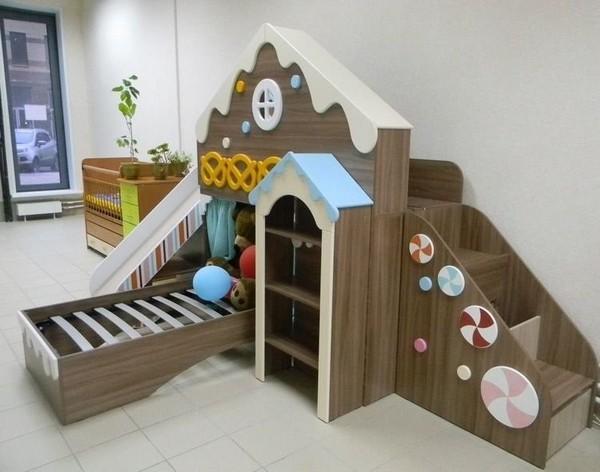 Кровать Пряничный домик