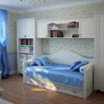 Кровать-диван в детской комнате