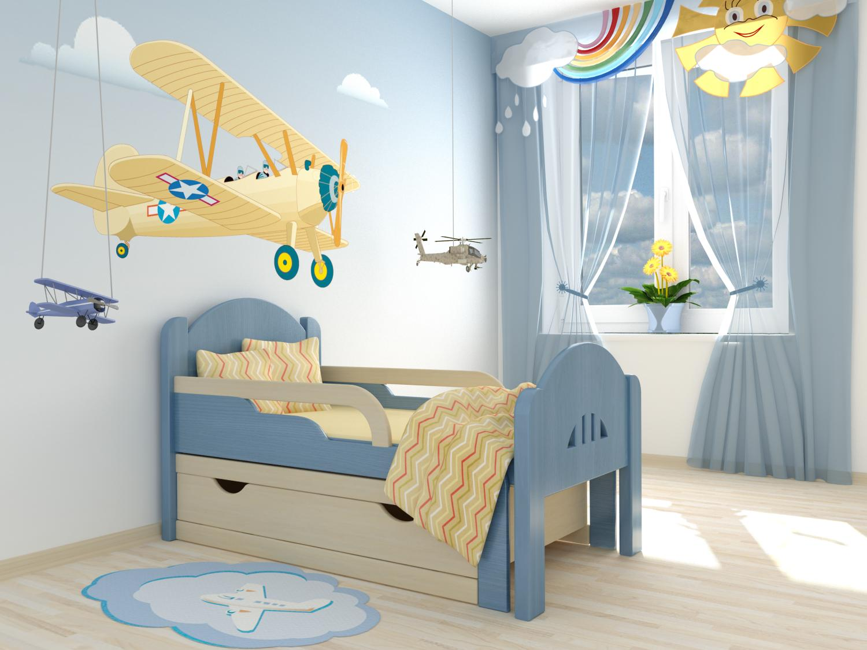 Кровать для мальчика до 3 лет