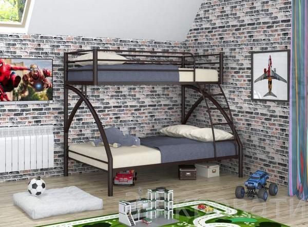 Двухуровневая кровать для детей