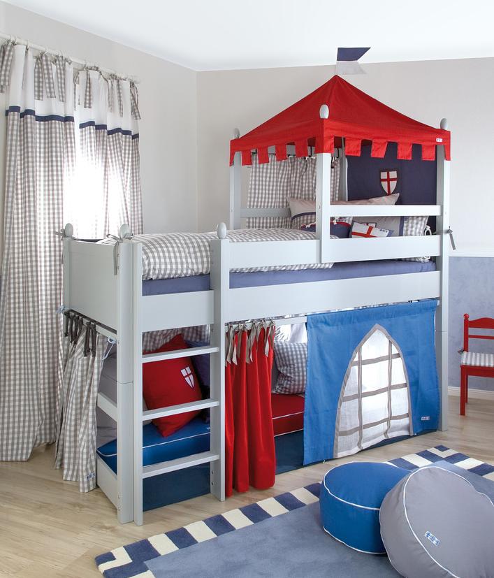 Кровать-крепость