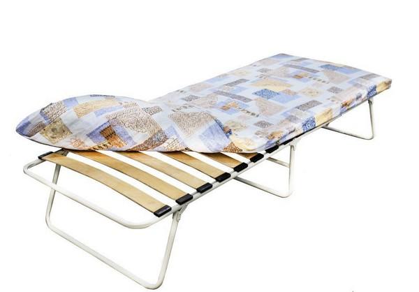 Кровать-раскладушка ортопедическая с ламелями