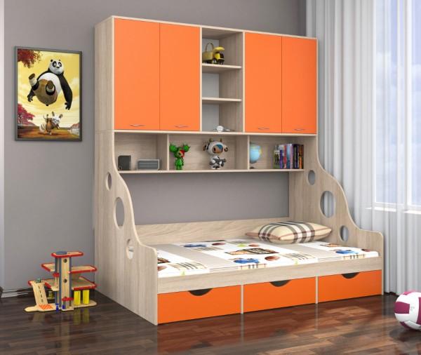 Детский комплекс с кроватью снизу