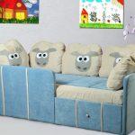 Кровать с овечками