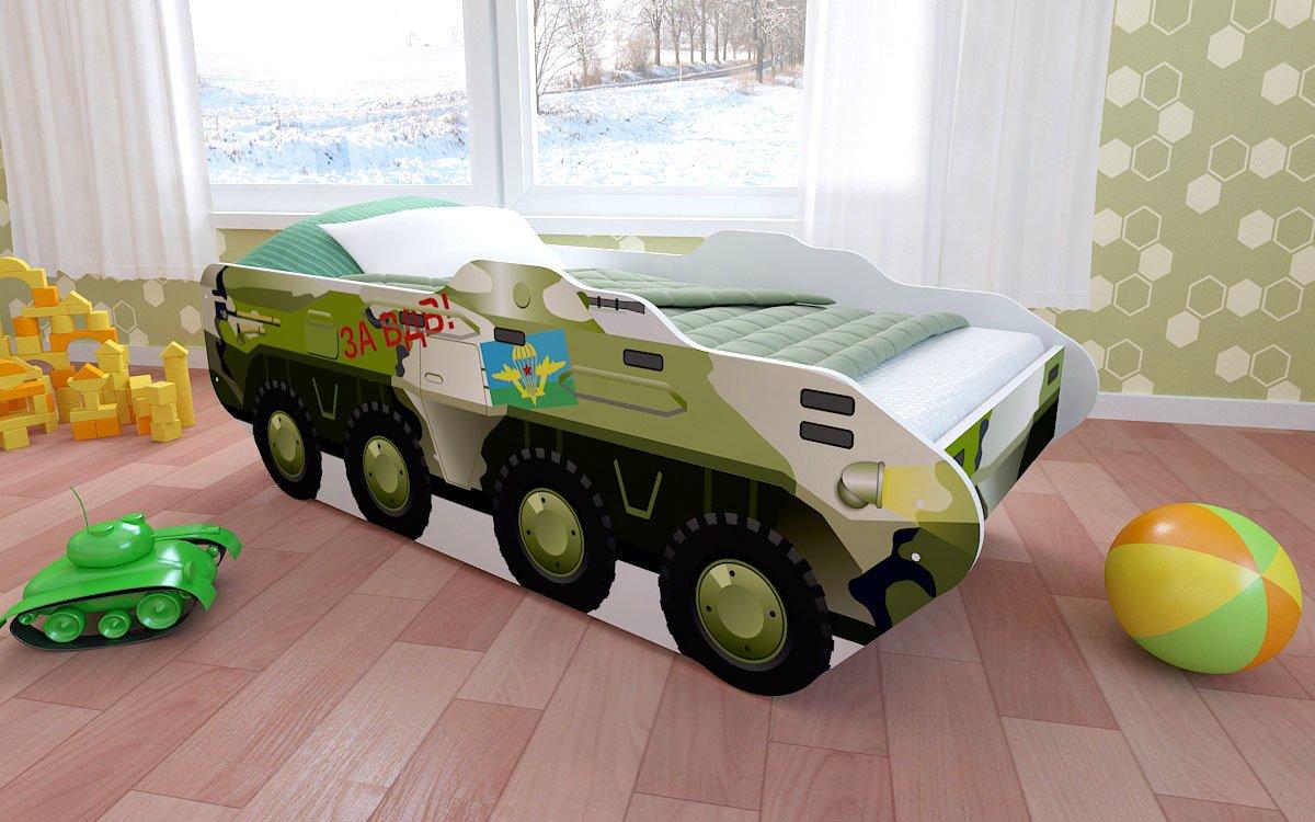 Кровать-танк