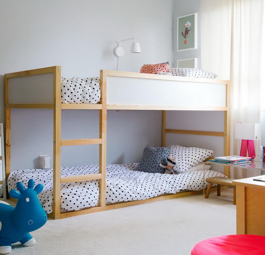 Кровать в два яруса детская