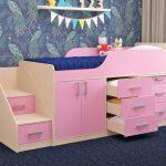 Кровати с выдвижными ящиками для хранения