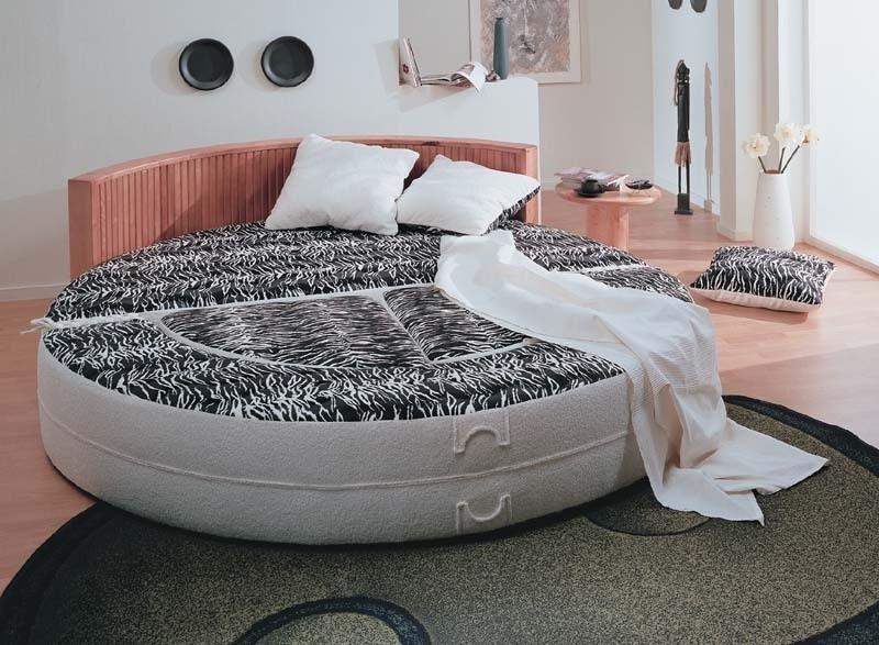 Круглое спальное место