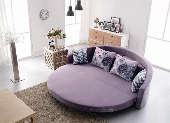 Круглый диван
