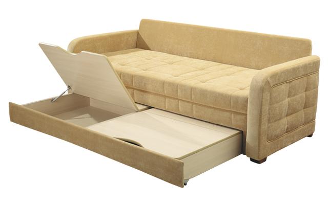 Цельное основание дивана