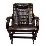 Массажное кожаное кресло