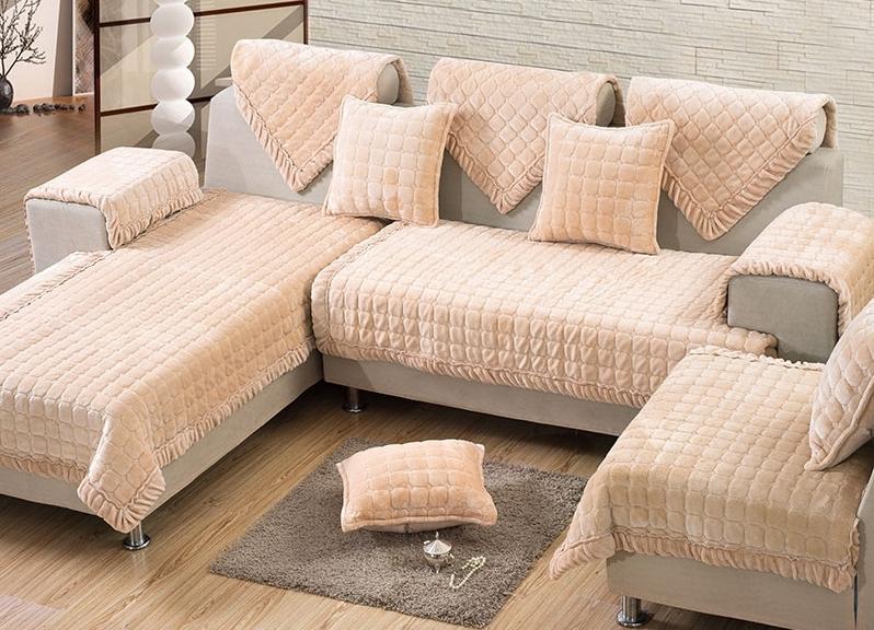 На П-образный диван