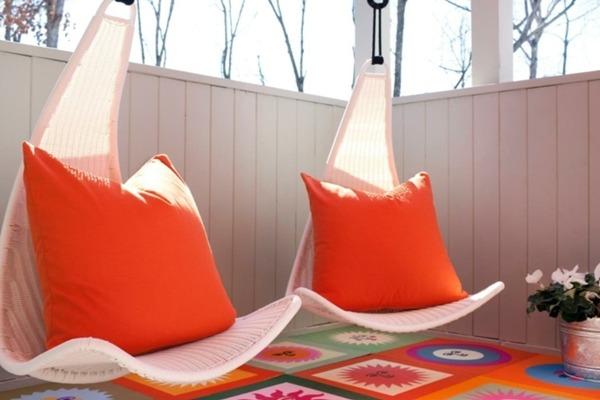 Необычные подвесные кресла
