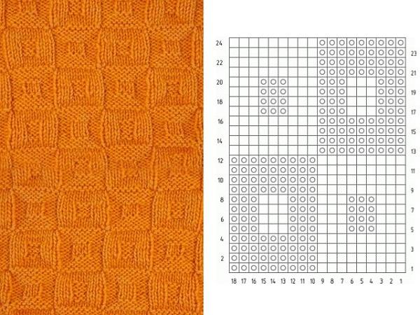 Схема вязание