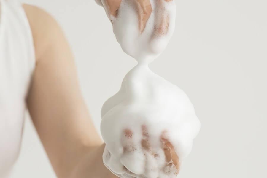 Плотная мыльная пена