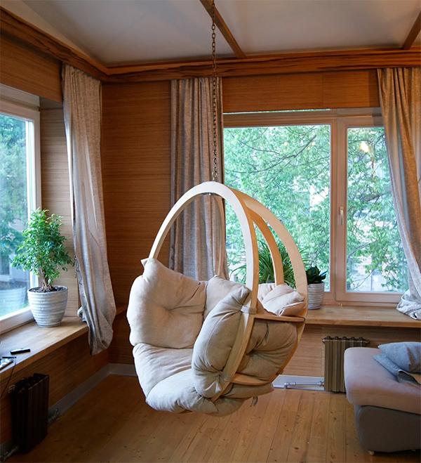 Подвесное кресло под потолок