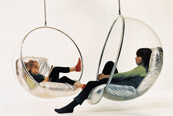 Подвесное кресло пузырь