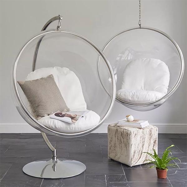 Подвесные кресла икеа акриловые