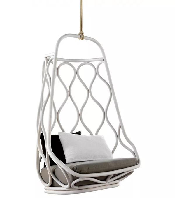 Подвисное кресло svinga бежевое
