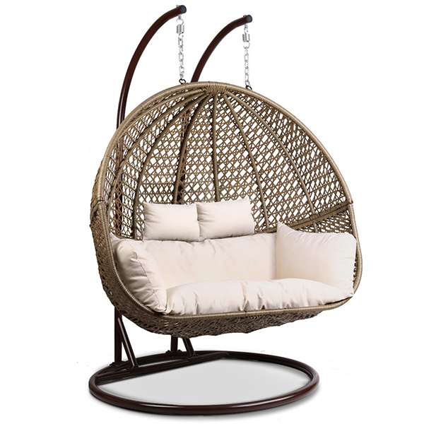 Подвисное кресло svinga коричневое