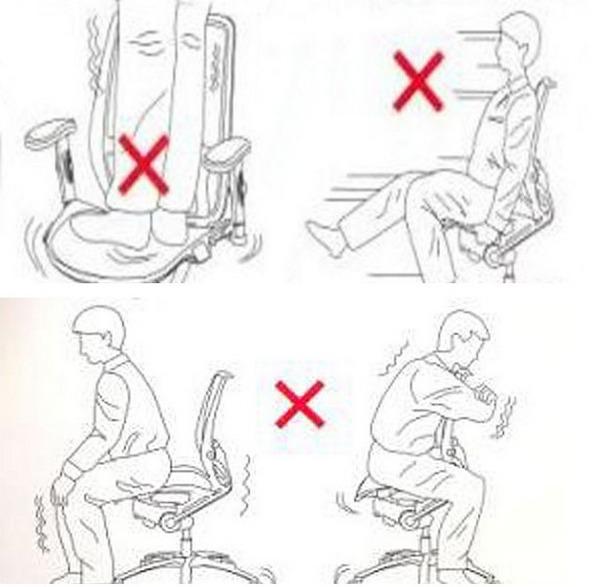 Правила эксплуатации кресла
