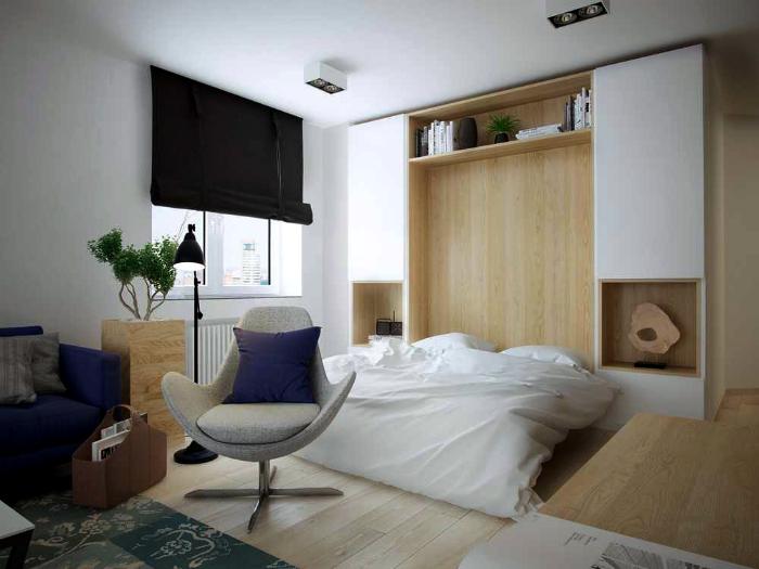 Пример трансформируемой мебели