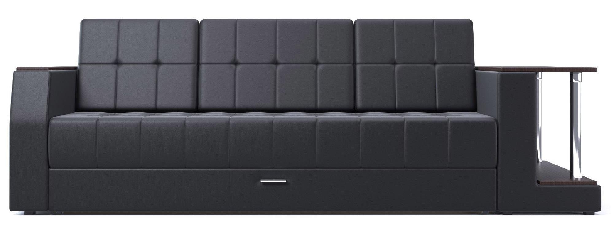 Прямой пристенный диван
