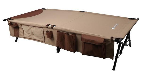 Раскладная кемпинговая кровать