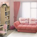Розовый интерьер