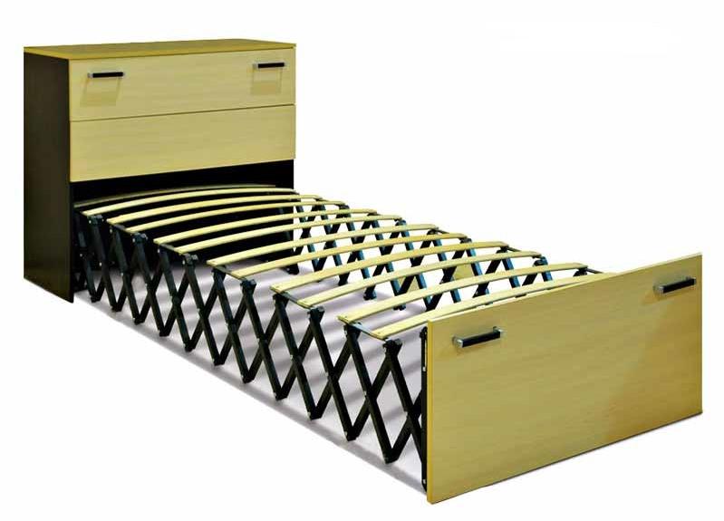 Шкаф-кровать, складывающаяся в гармошку