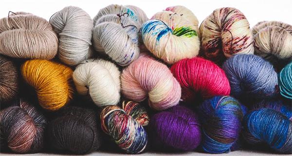Синтетические нитки для вязания