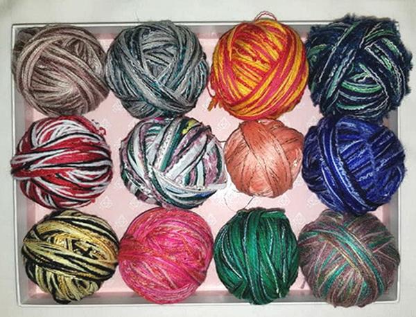 Смешанные нити для вязания
