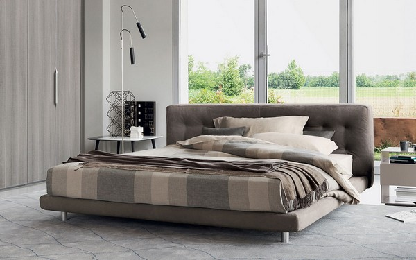 Современные низкие итальянские кровати