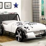 Стильная кровать-машина