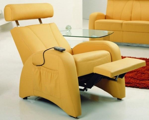 Стильное кресло-реклайнер