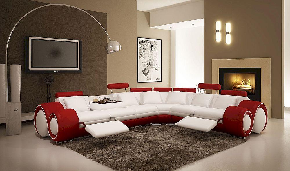 Стильный современный диван