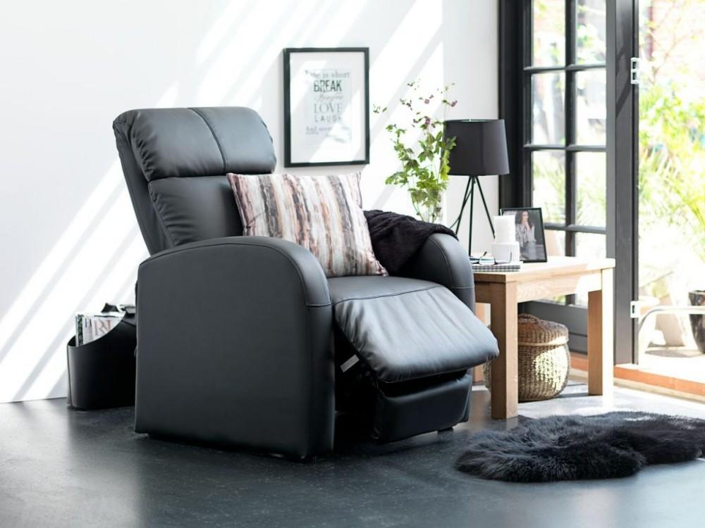 Удобное кресло-реклайнер