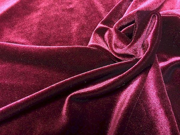 Велюровая ткань