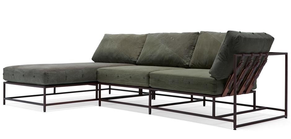 Внушительные габариты дивана