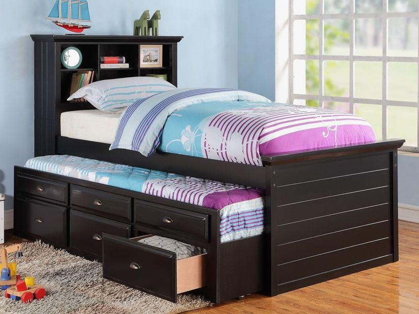 Высокая выдвижная кровать