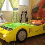 Кроватка-машина