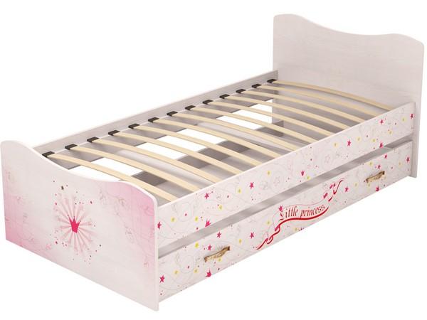 Кровать для девочки с ортопедическим основанием