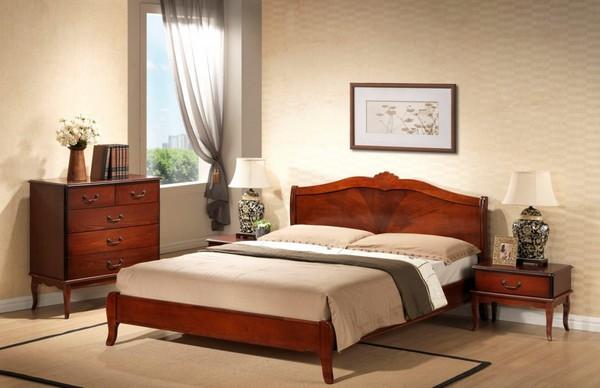 Кровать из кизила